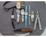 Lot: 61 - KNIVES & WATCHES