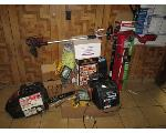 Lot: 10 - Weedeaters, Chainsaw, Shop Lights and More