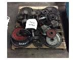 Lot: 6440 - Pallet of Weights / Dumbbells