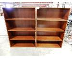 Lot: 02-22678 - (2) Wood Bookcases