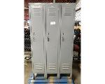 Lot: 02-22680 - (3) Attached Locker