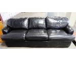 Lot: 02-22696 - Black Couch