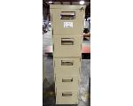 Lot: 02-22699 - Metal File Cabinet With Key