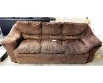 Lot: 02-22703 - Brown Couch