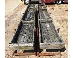 Lot: 02-22710 - (2) Wood Troughs/Feeders