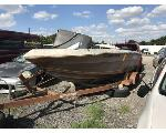 Lot: 490 - 1983 SYLVAN BOAT & TRAILER