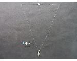 Lot: 7477 - LOOSE STONES & 14K NECKLACE