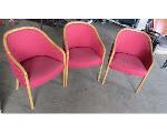 Lot: 59-083 - (3) Club Chairs