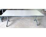 Lot: 59-084 - 6-ft Rolling Table Collapsable