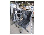 Lot: 56-103 - (3) Leather Executive Chairs