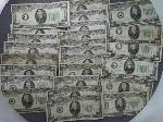 Lot: 378 - 1934 GREEN SEAL COLLECTIBLE $20 BILLS