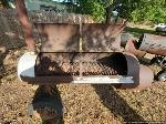 Lot: 284 - Large BBQ pit on Wheels