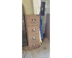 Lot: 50.SP - FILE CABINETS, COFFEE TABLE, SHELF, LAMP, PAPER ROLLS