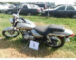 Lot: 5 - 2009 Kawasaki BN125 Motorcycle - Key<BR>VIN #JKABNRA199DA24113