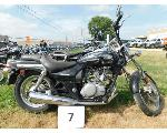 Lot: 7 - 2005 Kawasaki BN125 Motorcycle - Key<BR>VIN #JKABNRA105DA13267