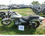 Lot: 14 - 2009 Kawasaki BN125 Motorcycle - Key<BR>VIN #JKABNRA119DA24459