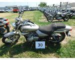 Lot: 30 - 2009 Kawasaki BN125 Motorcycle<BR>VIN #JKABNRA179DA24479
