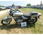 Lot: 34 - 2009 Kawasaki BN125 Motorcycle - Key<BR>VIN #JKABNRA149DA24438