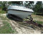 Lot: 16-675083C - 1996 CROWNLINE BOAT W/ BOAT TRAILER