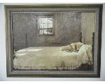 Lot: A7116 - Master Bedroom Picture by Andrew Wyeth