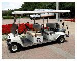 Lot: PP-01 - 2008 Club Car 6-Passenger Golf Cart