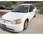 Lot: 53454 - 2001 HONDA CIVIC - KEY / RUNS & DRIVES