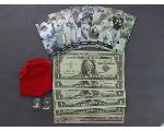 Lot: 1049 - SPORTS CARDS, U.S. CURRENCY & PLATINUM RING<BR><span style=color:red>No Credit Cards Accepted! CASH OR WIRE TRANSFER ONLY!</span>