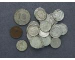 Lot: 1054 - ROOSEVELT DIMES & FOREIGN COINS