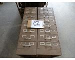 Lot: 56 - (2) Metal filing cabinets