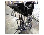 Lot: 02-22907 - (14) Sheet Music Stands w/ Rolling Cart