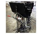 Lot: 02-22908 - (20) Sheet Music Stands w/ Rolling Cart