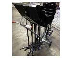 Lot: 02-22909 - (17) Sheet Music Stands w/ Rolling Cart