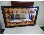 Lot: A7736 - Mirror Sign Bar Mancave Decoration
