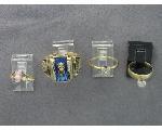 Lot: 174 - 10K RINGS