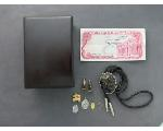 Lot: 1057 - BOLO, PENDANTS, CUFFLINKS, FOREIGN BILL & 10K RING