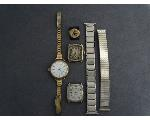 Lot: 1073 - WATCH, WATCH FACES & 14K RING