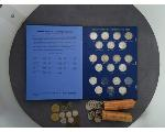 Lot: 1075 - SACAGAWEA DOLLARS, QUARTERS, DIMES & PENNIES
