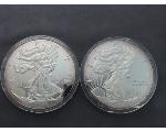 Lot: 1081 - ONE POUND SILVER ROUNDS