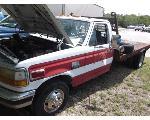 Lot: F14-MS - 1993 F350 Flatbed Truck
