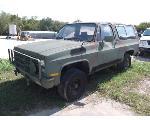 Lot: F17-MS - 1985 Chevrolet Blazer SUV