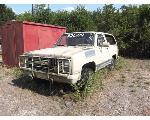 Lot: F19-NWS - 1985 Chevrolet Blazer SUV
