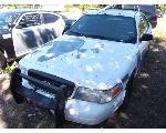 Lot: F8-NWS - 2008 Ford Crown Victoria Police Package - Key / Runs