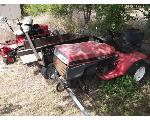 Lot: P04-MS - (2) Lawn Mowers, Small Metal Trailer