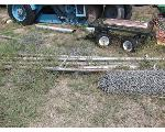 Lot: P07-MS - Small Trailer, Fence & Pipe
