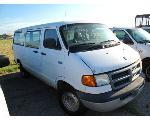 Lot: 16 - EQUIP#026023 - 2002 DODGE RAM 3500 CNG VAN - KEY
