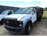 Lot: 258 - EQUIP#091068 - 2009 FORD F-450 FLAT BED TRUCK - KEY