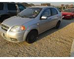 Lot: H16-244429 - 2008 CHEVROLET AVEO LS - KEY / STARTED & DROVE