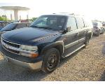 Lot: H32-136266 - 2001 CHEVROLET C1500 SUBURBAN SUV