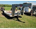 Lot: 32-Electra - 2000 Overbilt Gooseneck Trailer<BR>VIN# 1Z9AD2524Y0058263