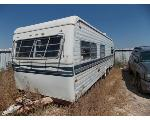 Lot: 2 - Box Travel Trailer - For Parts